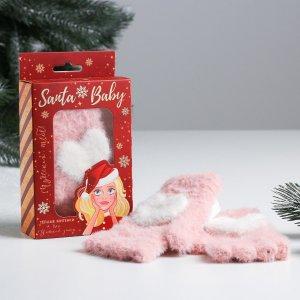 Митенки в подарочной упаковке santa baby Beauty Fox