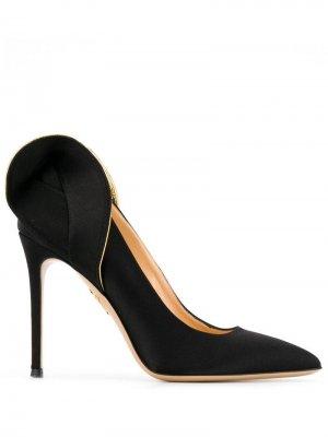 Туфли-лодочки Blake Charlotte Olympia. Цвет: черный