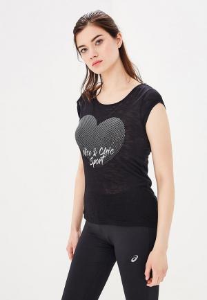 Майка Nice & Chic. Цвет: черный