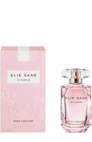 Туалетная вода Rose Couture Elie Saab. Цвет: бесцветный