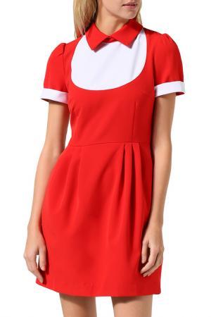 Платье BELUCCI. Цвет: красный