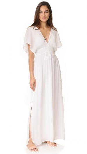 Макси-платье Piana Ella Moss. Цвет: бумага