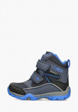 Ботинки CMP KIDS PYRY WP. Цвет: синий