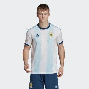 Домашняя игровая футболка сборной Аргентины Performance adidas. Цвет: белый