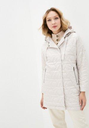 Куртка утепленная Dimma. Цвет: белый