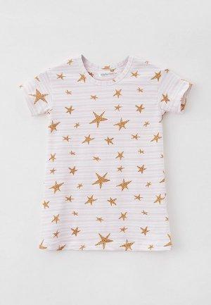 Сорочка ночная Ritta Romani SHINY. Цвет: розовый