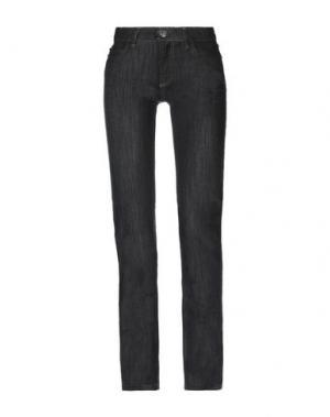 Джинсовые брюки PLEIN SUD. Цвет: черный