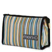 Косметичка в полоску Stripes Toiletry Bag – Grey/Blue/Yellow men-ü