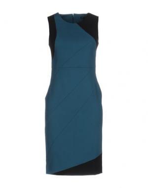 Платье до колена ANNARITA N. Цвет: цвет морской волны