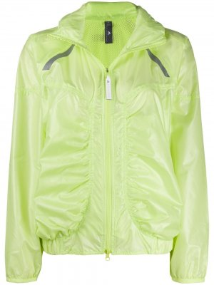 Легкая непромокаемая куртка adidas by Stella McCartney. Цвет: желтый