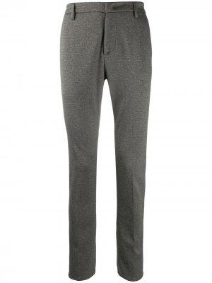 Узкие брюки строгого кроя Dondup. Цвет: зеленый