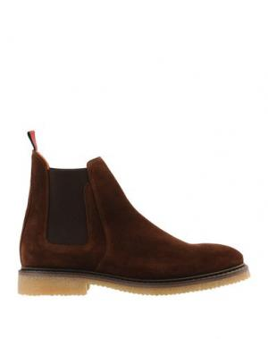 Полусапоги и высокие ботинки AMBITIOUS. Цвет: коричневый