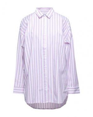 Pубашка GESTUZ. Цвет: светло-фиолетовый