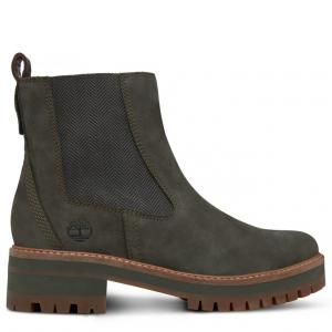 Ботинки Courmayeur Chelsea Timberland. Цвет: оливковый