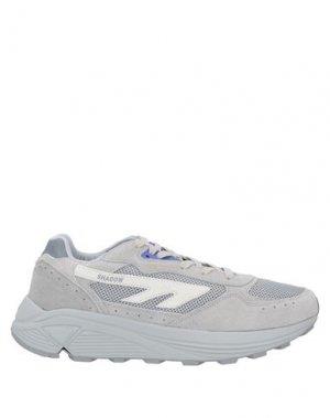 Низкие кеды и кроссовки HI-TEC. Цвет: светло-серый