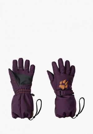 Перчатки Jack Wolfskin TEXAPORE GLOVE KIDS. Цвет: фиолетовый