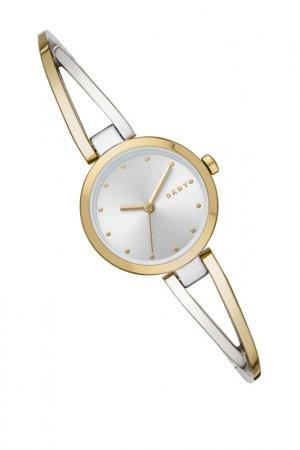 Часы наручные DKNY. Цвет: желтое золото