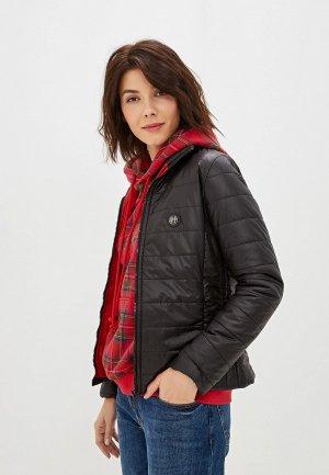Куртка утепленная Felix Hardy. Цвет: черный
