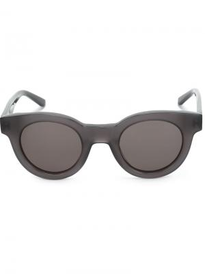 Солнцезащитные очки Type 02 Sun Buddies. Цвет: серый