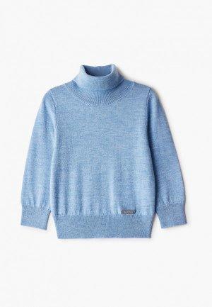 Водолазка Norveg Cash Touch. Цвет: голубой