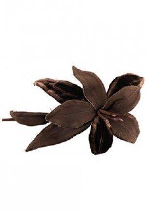 Брошь P.A.R.O.S.H.. Цвет: коричневый