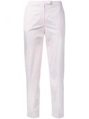 Брюки-чинос Kenzo. Цвет: розовый и фиолетовый