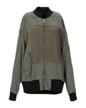 Куртка HUDSON. Цвет: зеленый-милитари