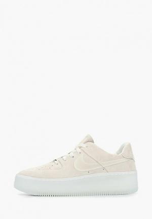 Кеды Nike Air Force 1 Sage Low LX Womens Shoe. Цвет: бежевый
