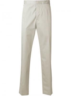 Классические строгие брюки Lanvin. Цвет: серый