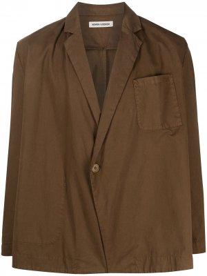 Пиджак Big Blazer HENRIK VIBSKOV. Цвет: коричневый