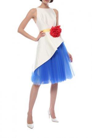 Платье Carolina Herrera. Цвет: белый