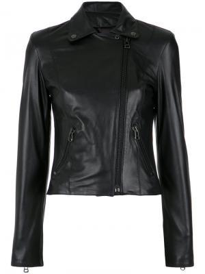 Leather jacket Nk. Цвет: чёрный