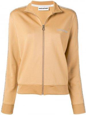 Спортивная куртка на молнии Each X Other. Цвет: нейтральные цвета