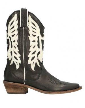 Полусапоги и высокие ботинки P.A.R.O.S.H.. Цвет: черный