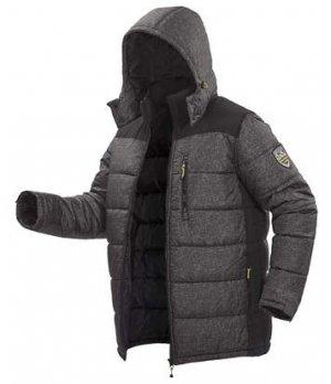 Стеганая Куртка в Спортивном Стиле Atlas For Men. Цвет: серый