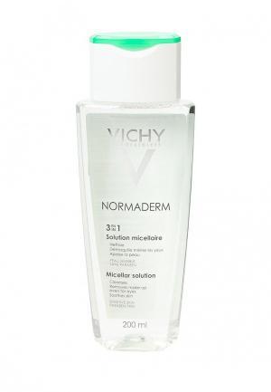 Лосьон для лица Vichy Мицеллярный снятия макияжа Normaderm 3-В-1, 200 мл. Цвет: прозрачный