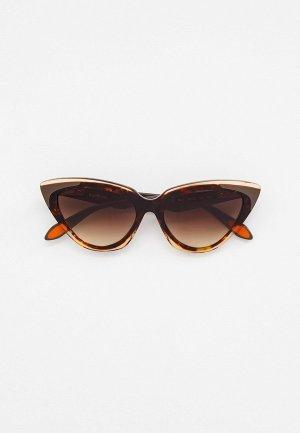 Очки солнцезащитные Baldinini BLD 2123 PF 401. Цвет: коричневый