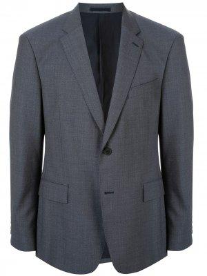 Твиловый пиджак Kent & Curwen. Цвет: синий