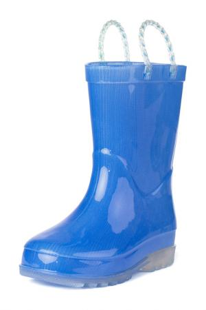 Сапоги резиновые PlayToday. Цвет: голубой