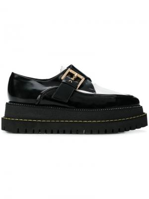 Buckled creepers shoes Nº21. Цвет: черный