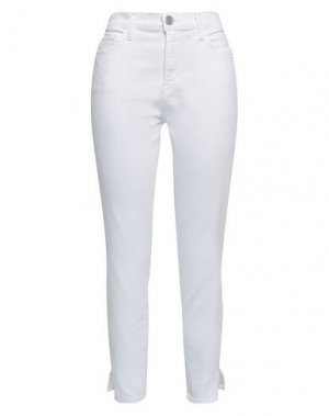 Джинсовые брюки CURRENT/ELLIOTT. Цвет: белый