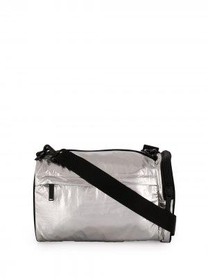 Спортивная сумка с логотипом Y-3. Цвет: серебристый