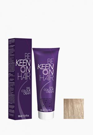 Краска для волос Keen 10.1 Ультра-светлый пепельный блондин 100 мл. Цвет: прозрачный