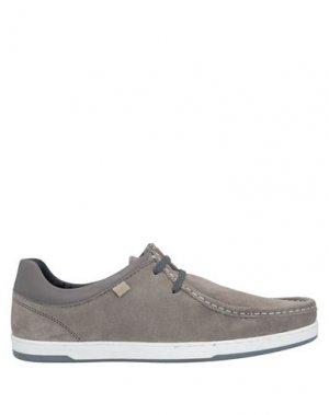 Обувь на шнурках BASE London. Цвет: серый