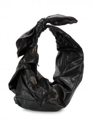 Объемная сумка на плечо Simone Rocha. Цвет: черный