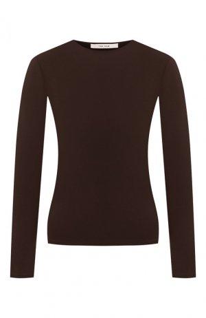 Пуловер The Row. Цвет: коричневый
