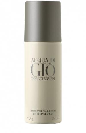 Дезодорант-спрей Aqua Di Gio Homme Giorgio Armani. Цвет: бесцветный