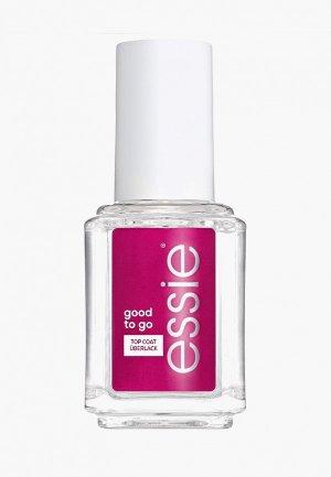 Сушка для лака Essie Good To Go, ускоряет высыхание лака, придает глянцевый блеск, оттенок 01, прозрачный, 13.5 мл. Цвет: прозрачный