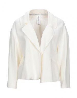 Пиджак 22 MAGGIO by MARIA GRAZIA SEVERI. Цвет: слоновая кость