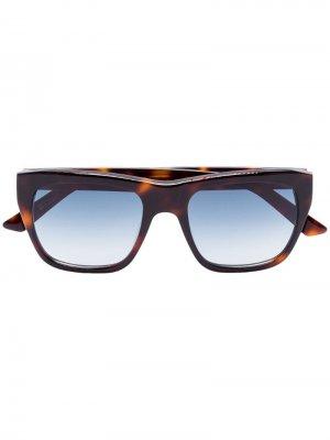 Солнцезащитные очки Blake черепаховой расцветки Kirk Originals. Цвет: коричневый